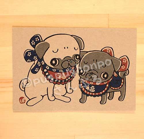 画像1: 福犬パグ(PUG)