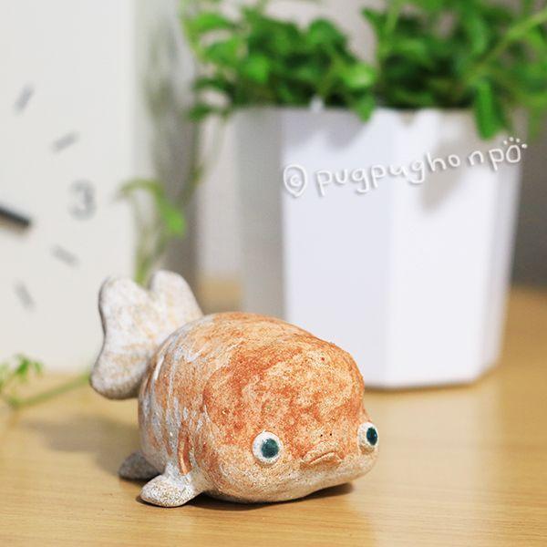 画像1: ぶちゃいく金魚A