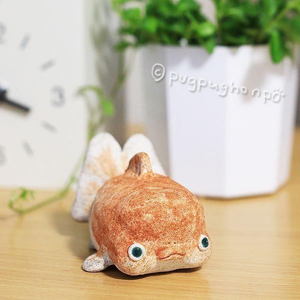 画像1: ぶちゃいく金魚B